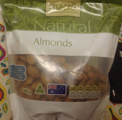 Almonds Natural - Product - en