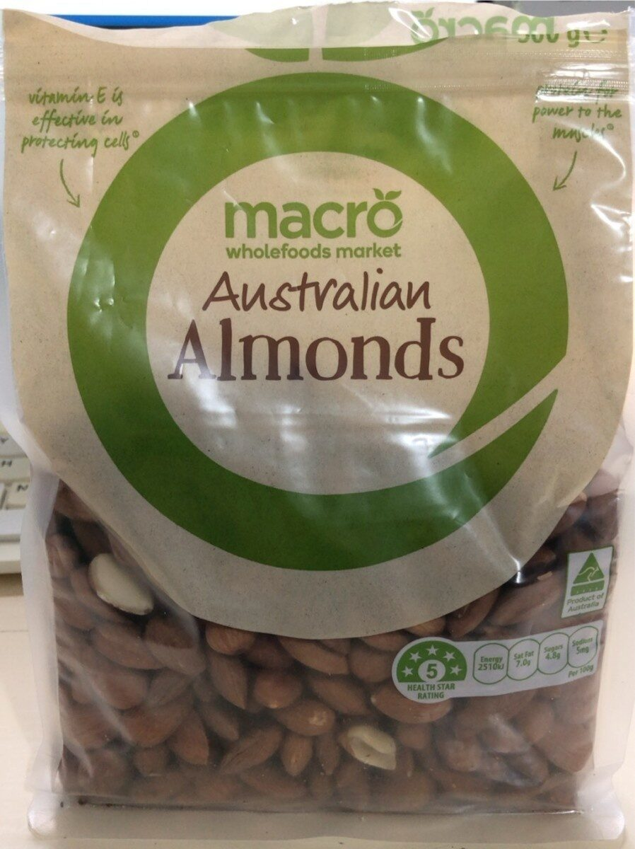 Almonds - Product - en