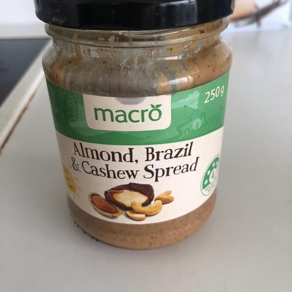 Almond, Brazil & Cashew Spread - Product - en