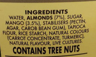 Organic Chickpeas - Ingrédients
