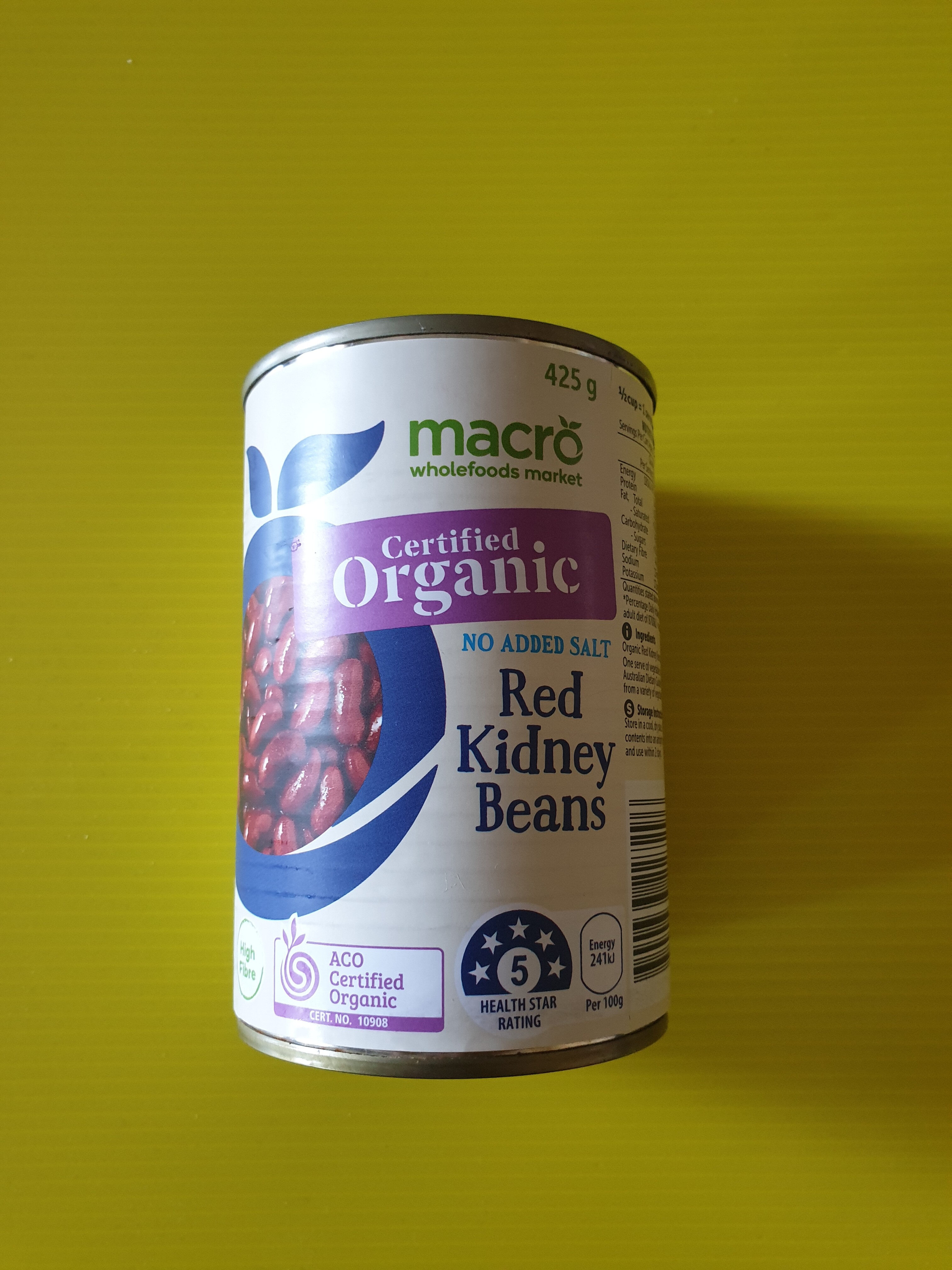 Red Kidney Beans (Organic) - Product - en
