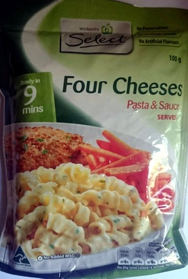 Four Cheeses Pasta & Sauce - Product