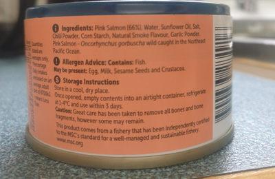 Wild alaskan salmon - Ingredients - en