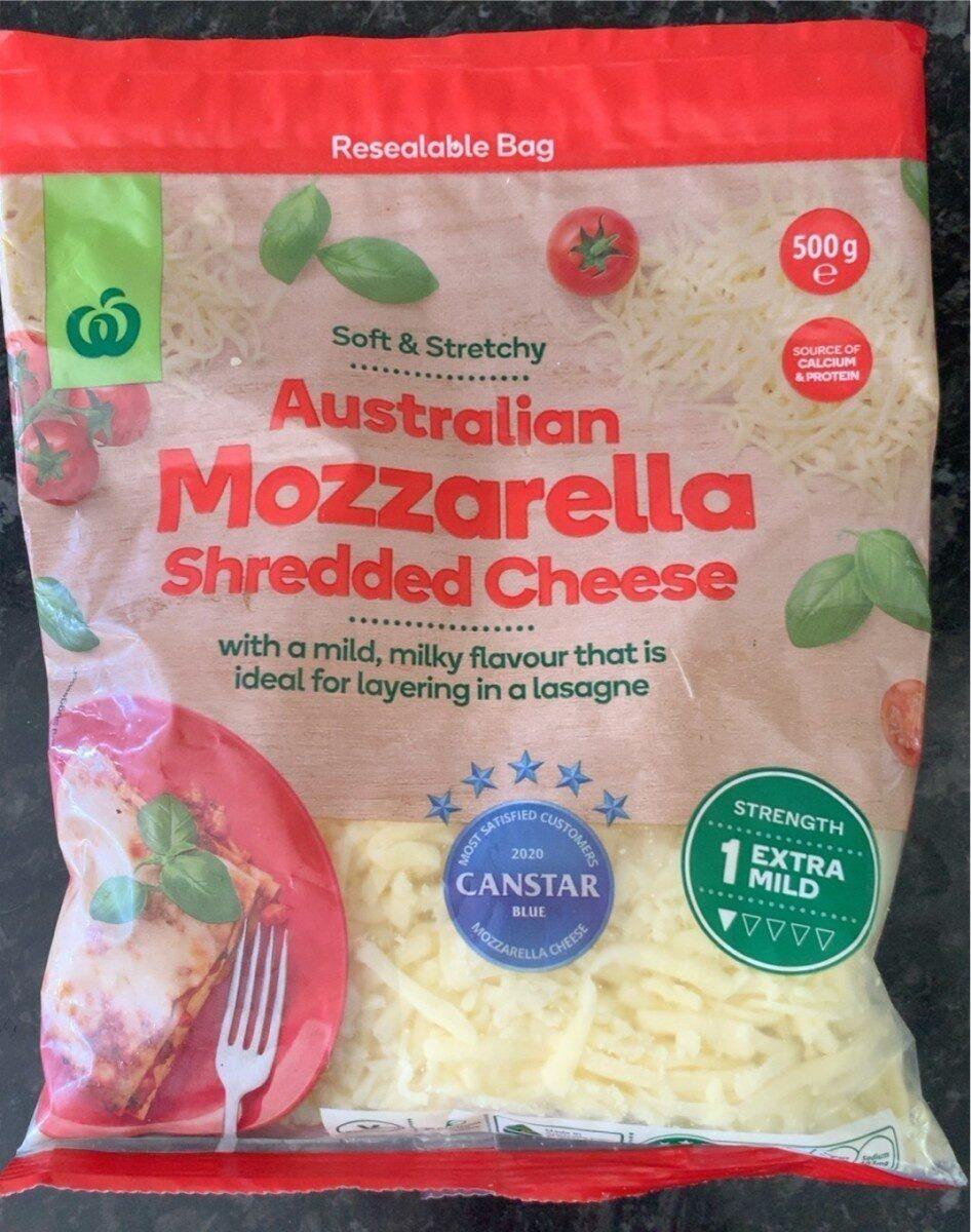 Australian mozzarella shredded cheese - Product - en