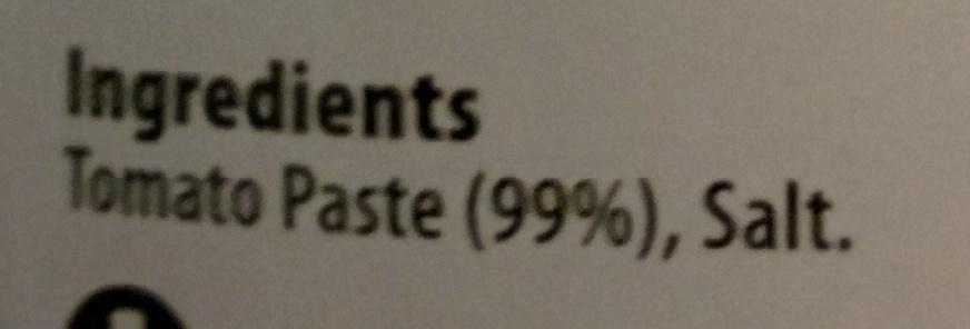 Tomato Paste - Ingredients - en