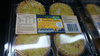 4 Custard Tarts - Product