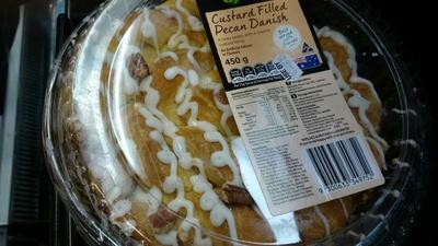 Custard Filled Pecan Danish - Product - en