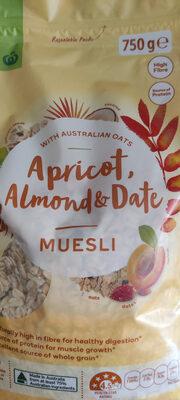 Apricot, Almond & Date Muesli - 产品 - en
