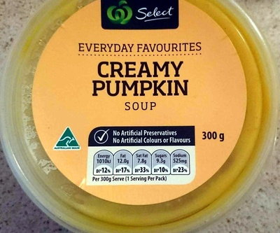Creamy Pumpkin Soup - Product