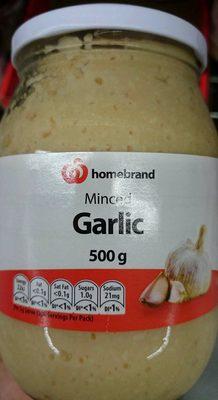 Minced Garlic - Product