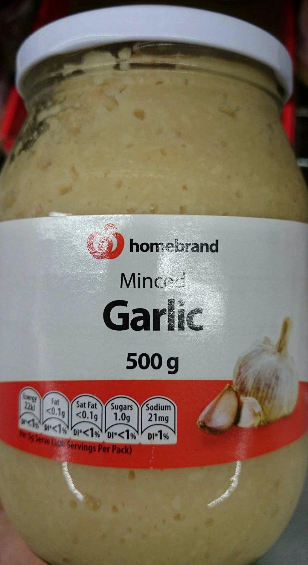 Minced Garlic - Produit