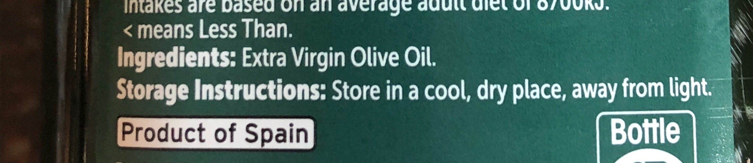 Extra virgin olive oil - Ingredients - fr