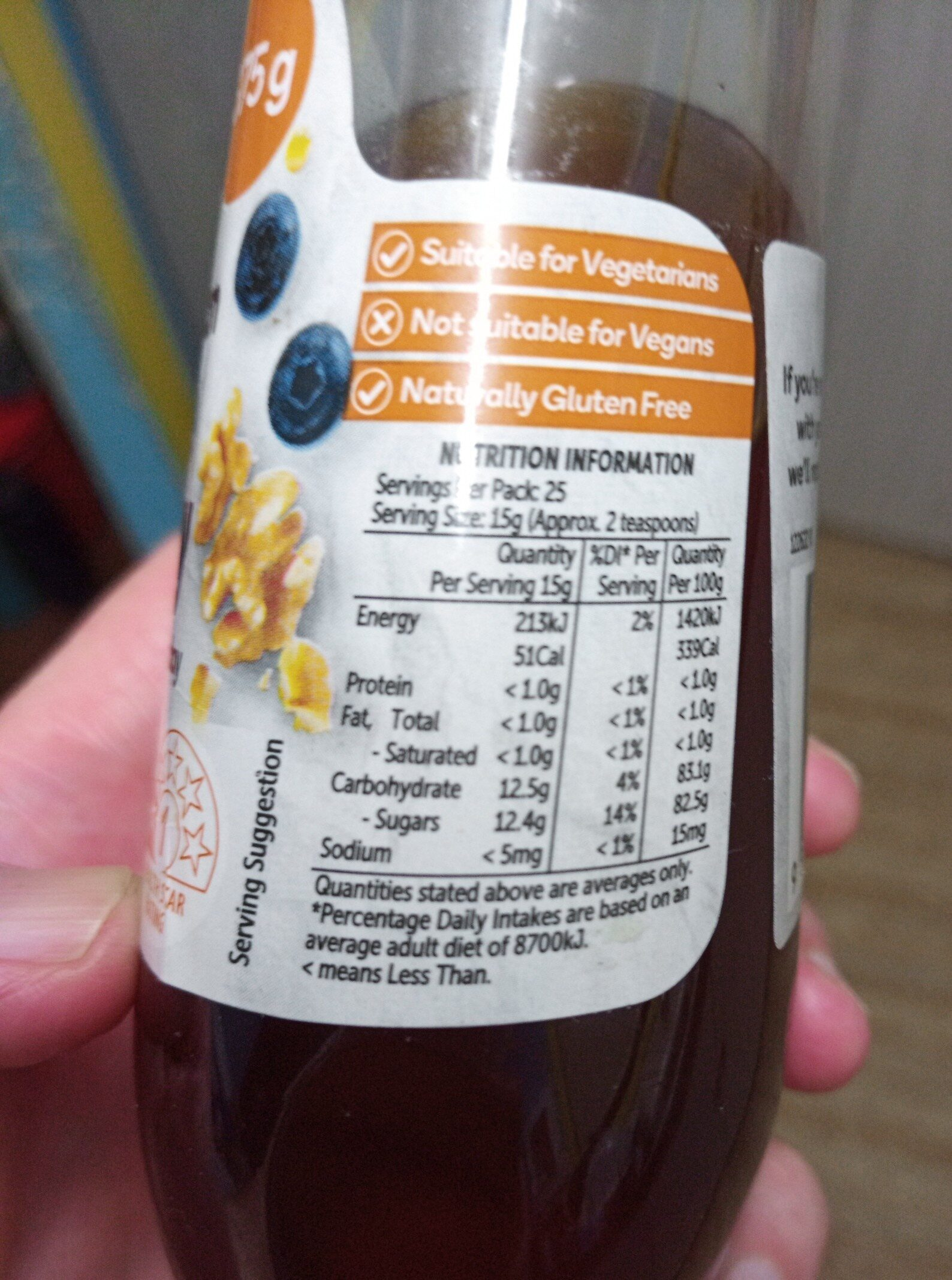 Woolworths Honey - Ingredients - en