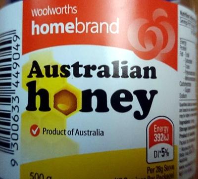 Australian Honey - Product - en
