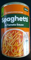 Spaghetti in Tomato Sauce - Product - en