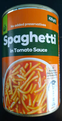 Spaghetti in Tomato Sauce - Produit - en