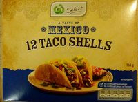 12 Taco Shells A Taste of Mexico - Product