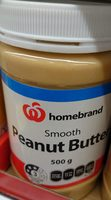 Smooth Peanut Butter - Product - en