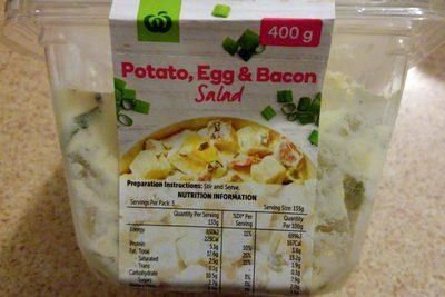 Potato, Egg & Bacon Salad - Product - en
