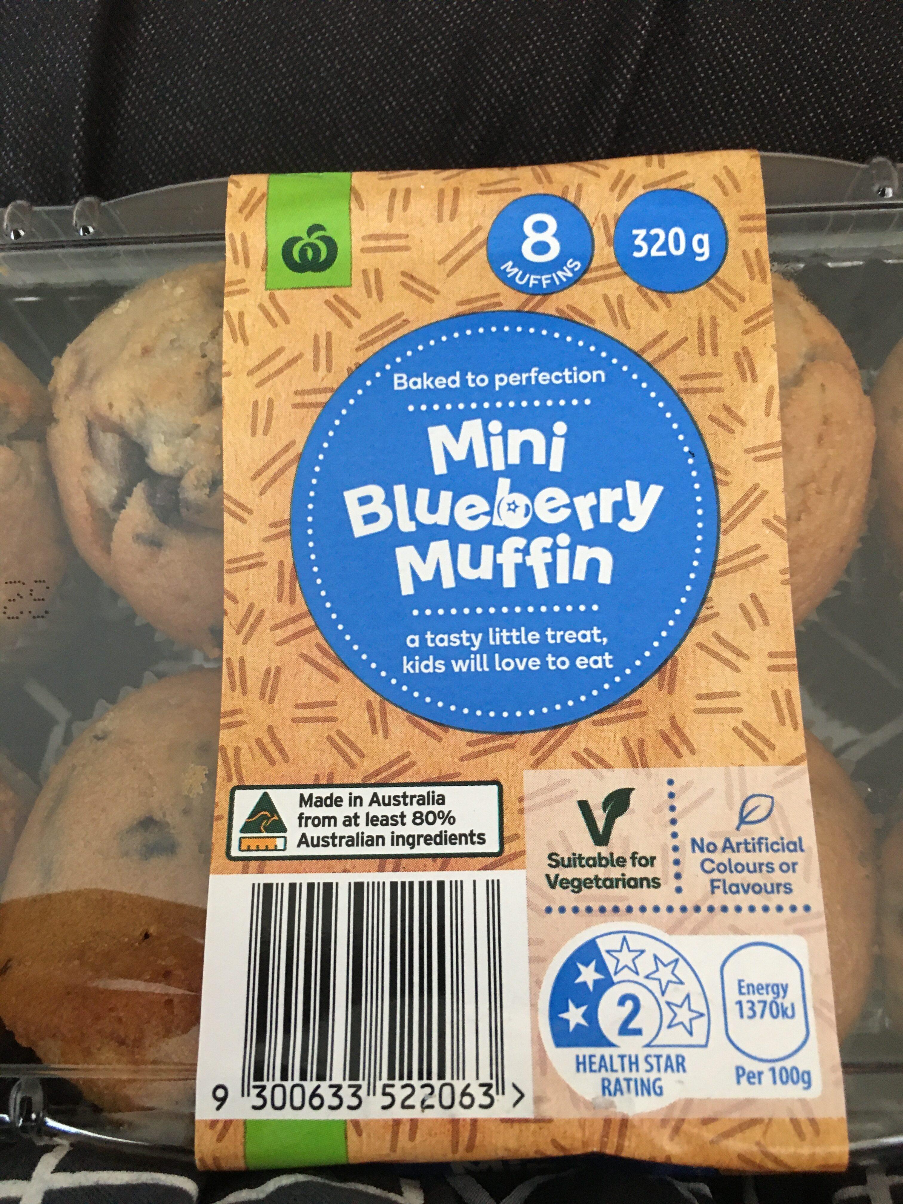 Mini Blueberry Muffin - Produit - en
