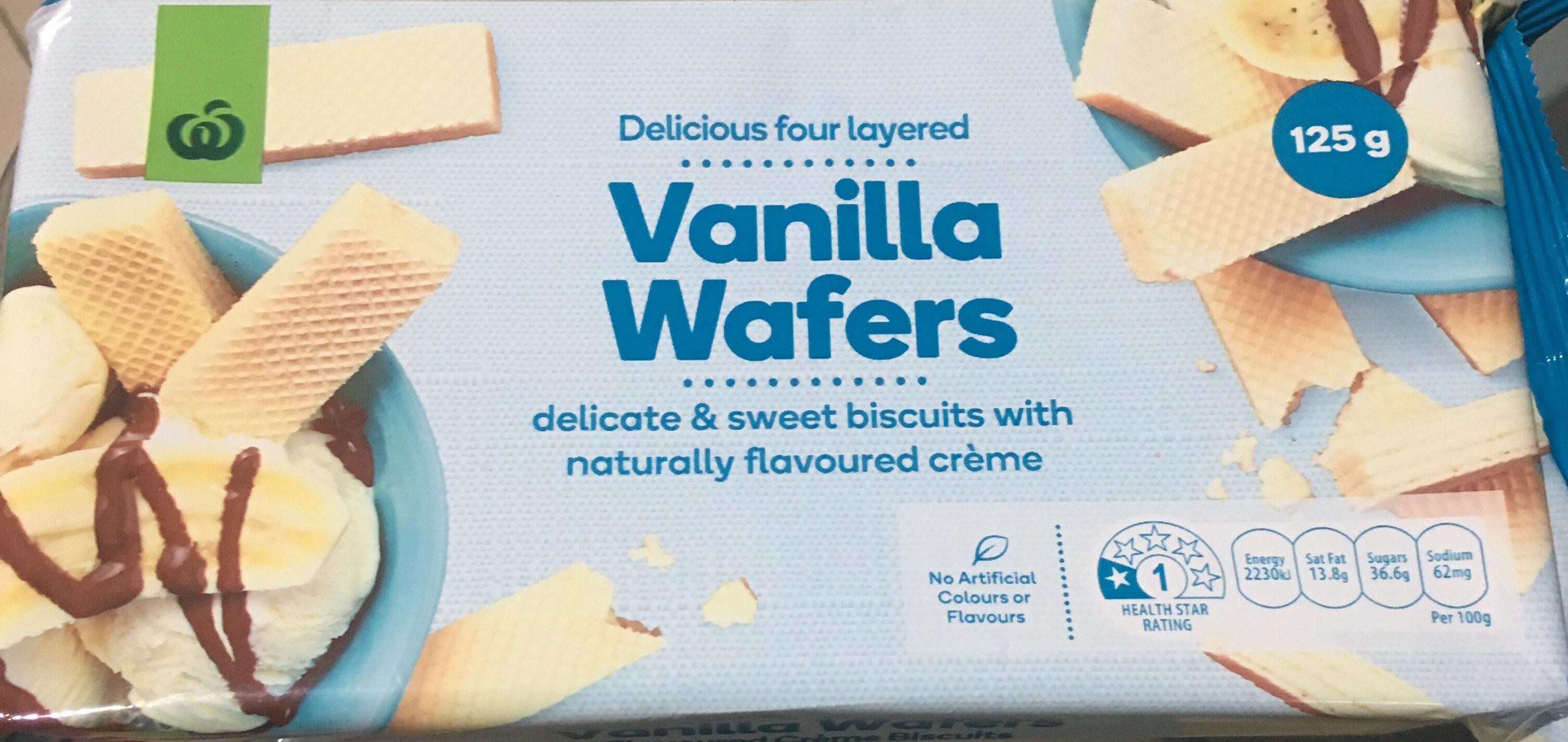vanilla wafers - Product - en