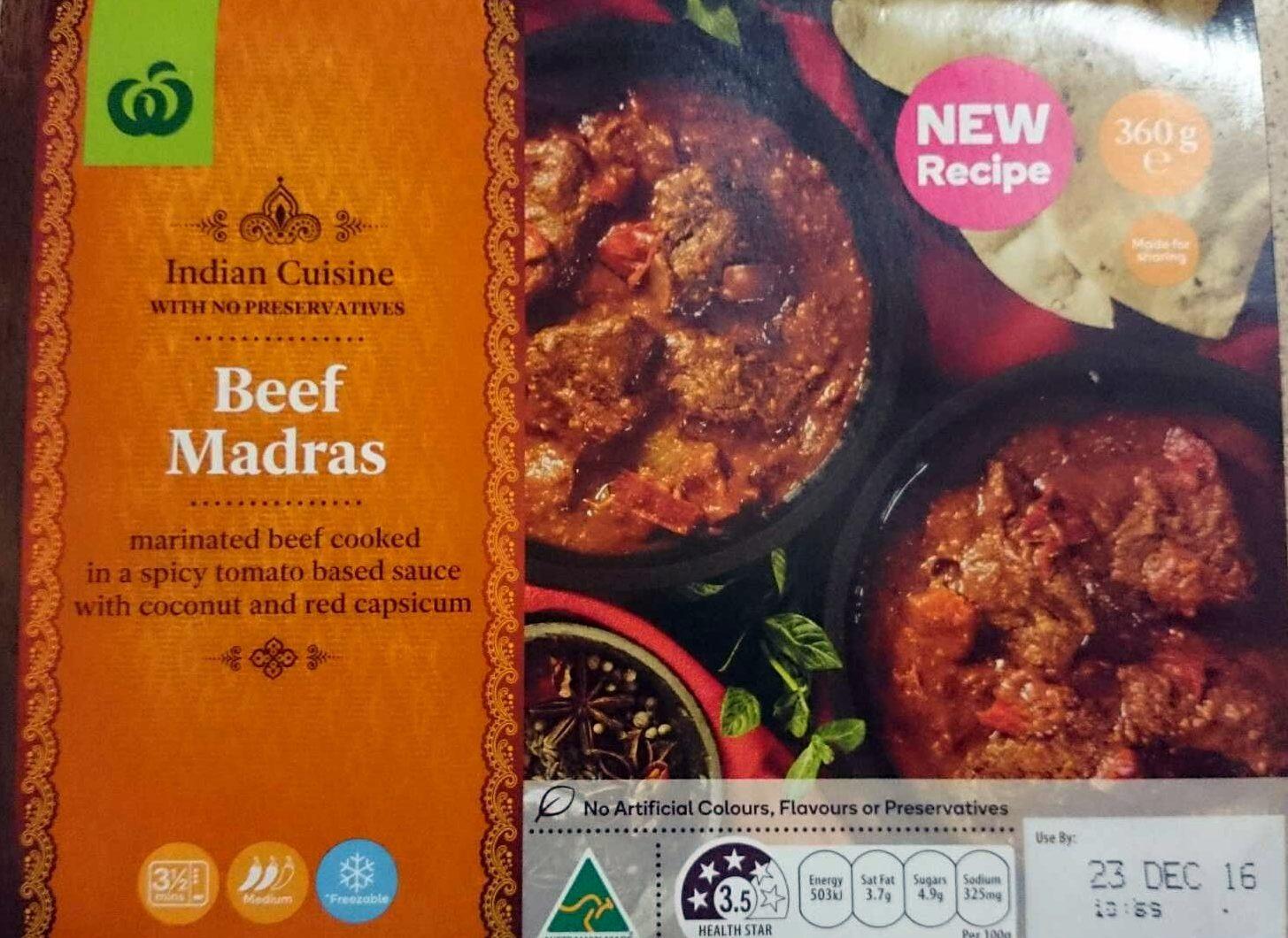 Beef Madras - Product - en