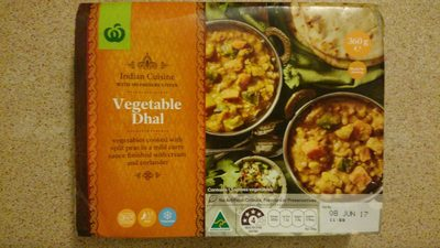 Vegetable Dhal - Product