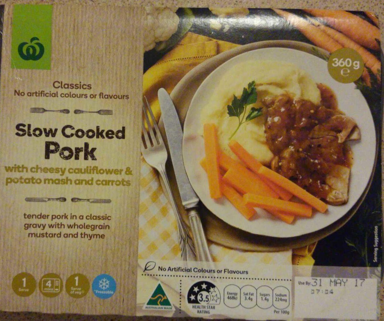 Slow cooked pork - Produit - en