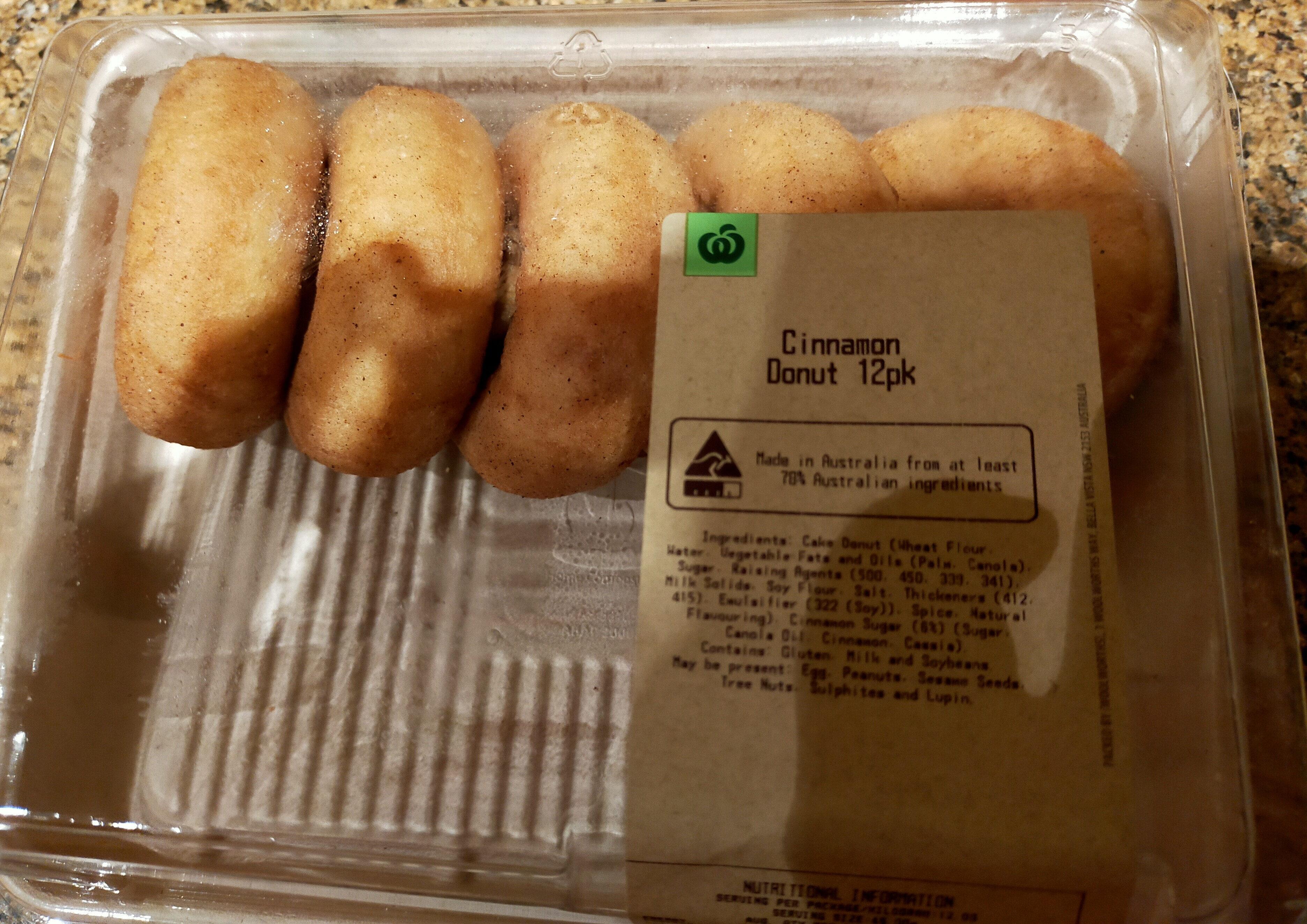 Cinnamon Donut 12pk - Produit - en