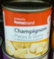 Champignons Mushrooms Pieces and Stems - Product