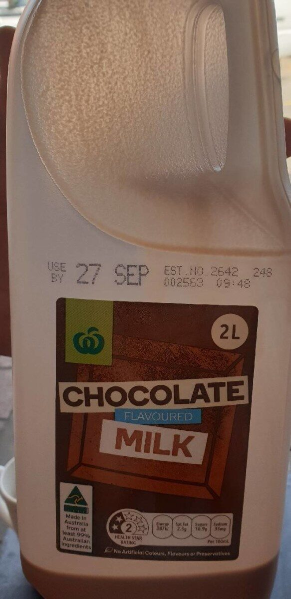 Chocolate flavoured milk - Product