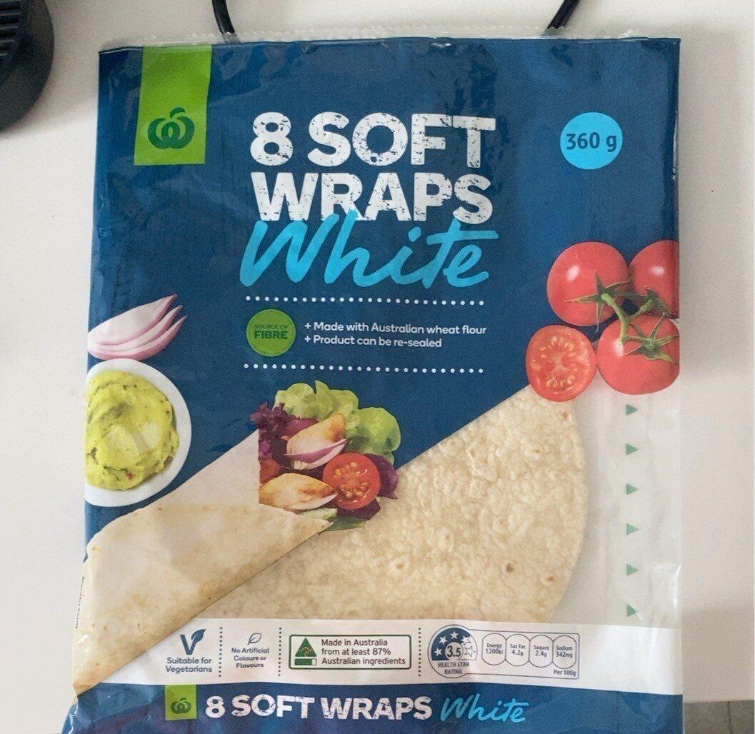 Soft White Wraps - Product - en