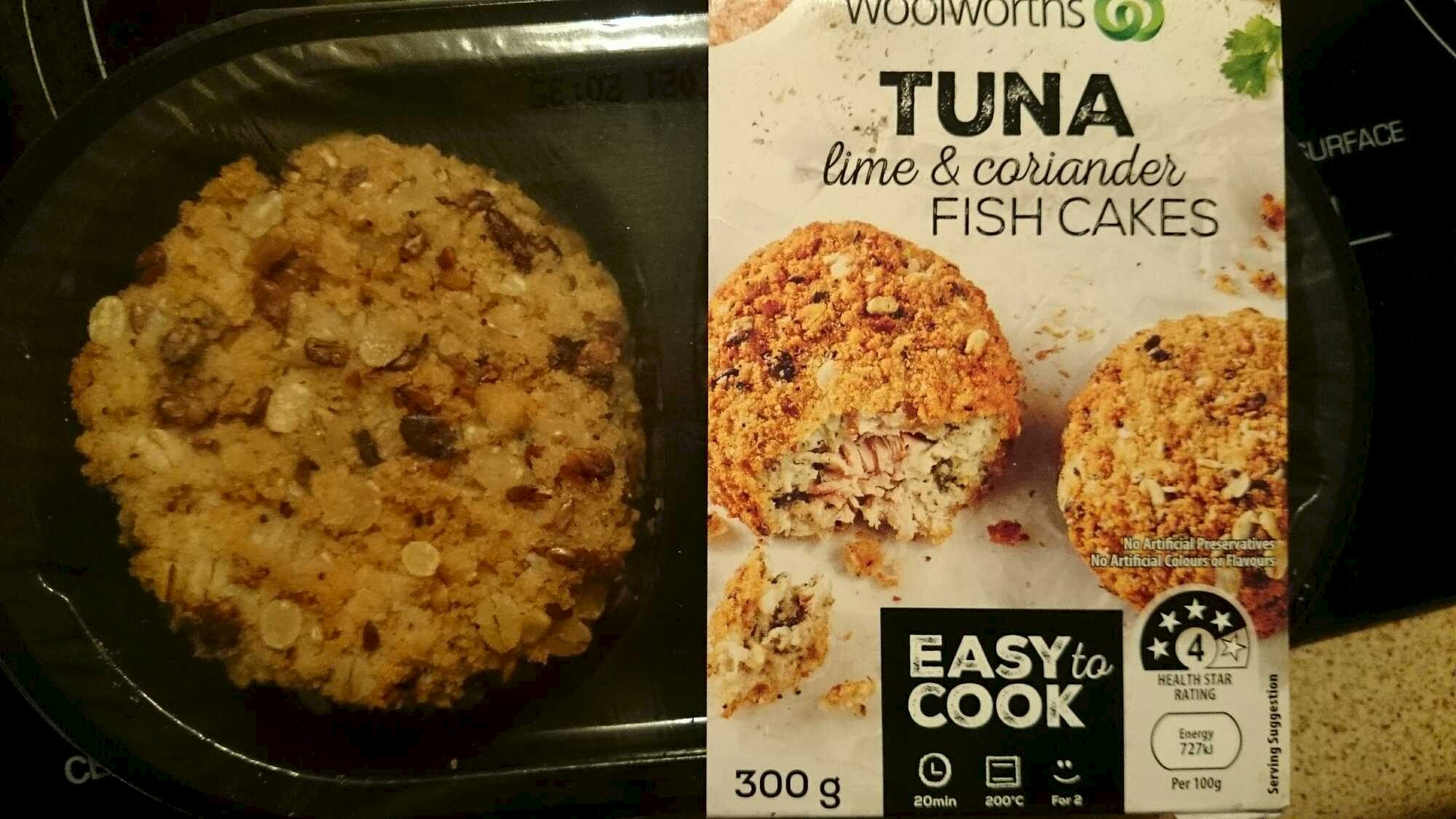 Tuna lime and coriander Fish Cakes - Product - en