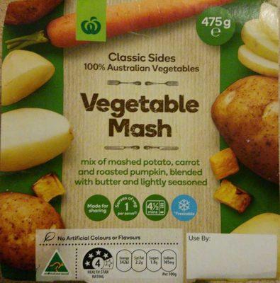 Vegetable mash - Product