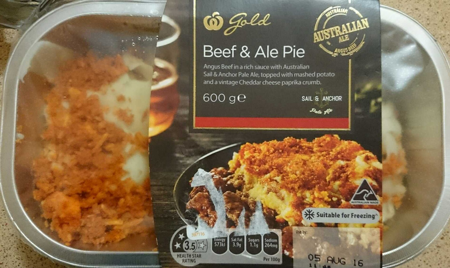 Beef and Ale Pie - Product - en