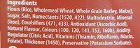 Frootloops - Ingredients - fr