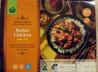 Butter Chicken with Rice - Product