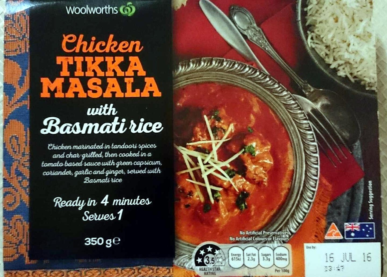 Chicken Tikka Masala with Basmati Rice - Product - en