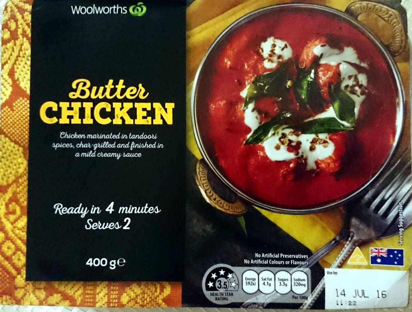 Butter Chicken - Product - en