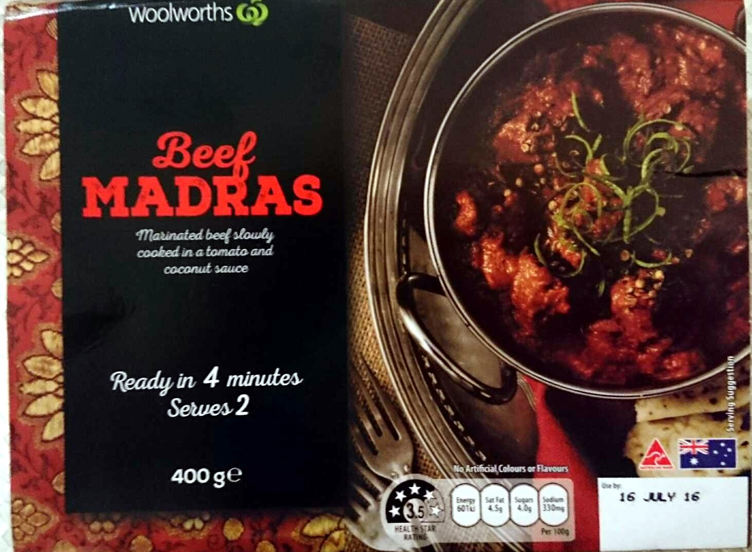Beef Madras - Product