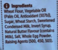Scotch Finger - Ingredients - en