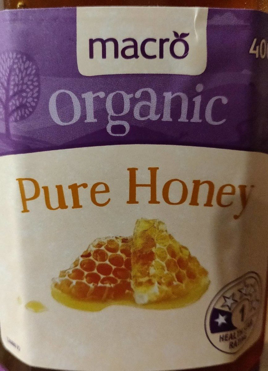Organic Pure Honey - Product - fr