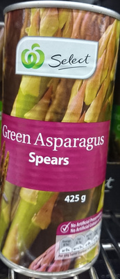 Woolworths Select Green Asparagus Spears - Product - en
