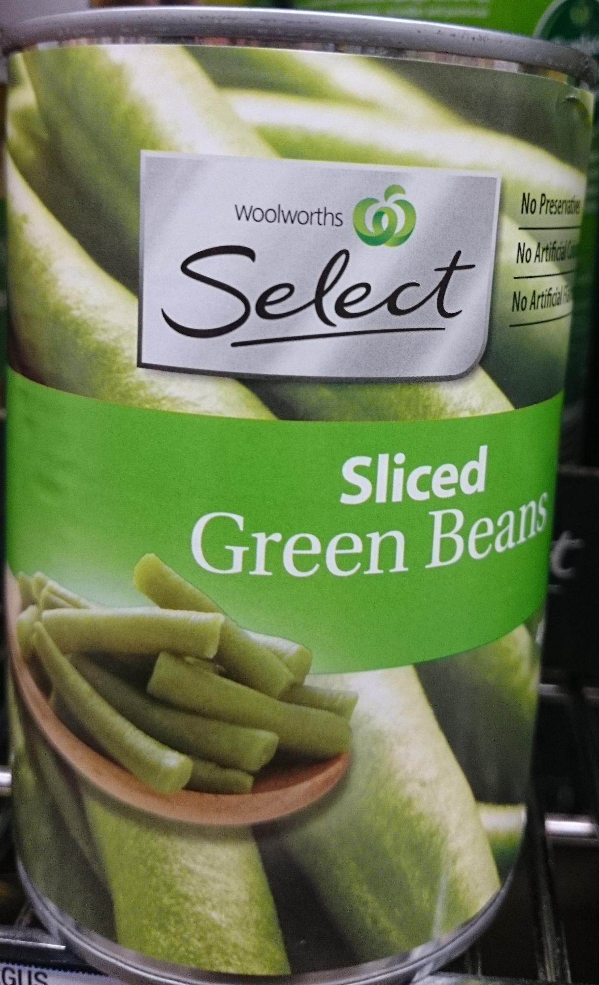 Haricots verts en morceaux - Product