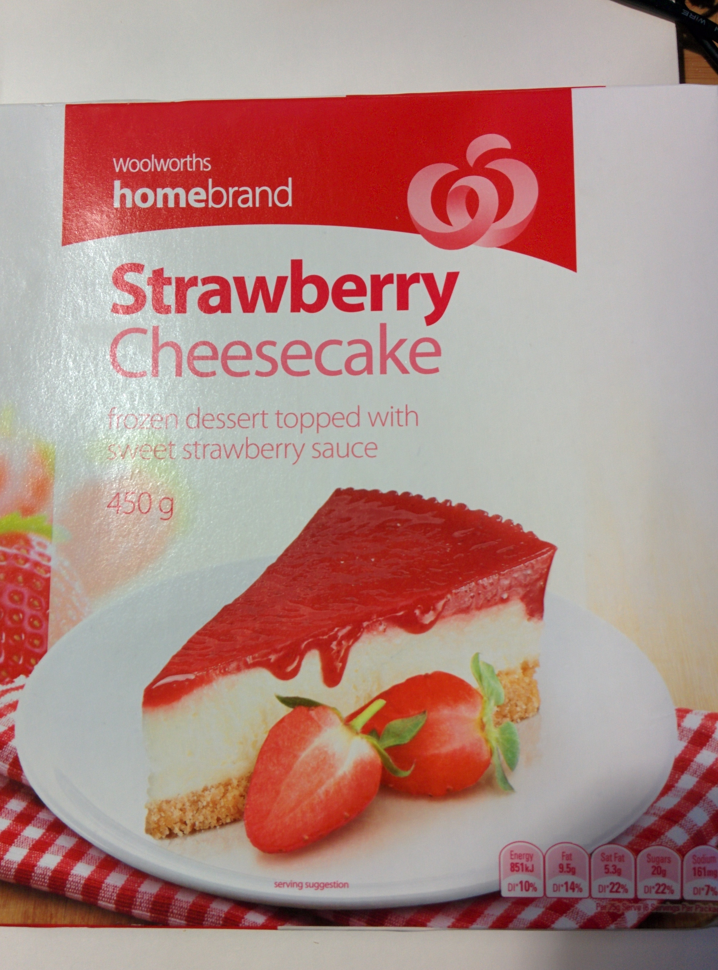 Strawberry Cheesecake - Product