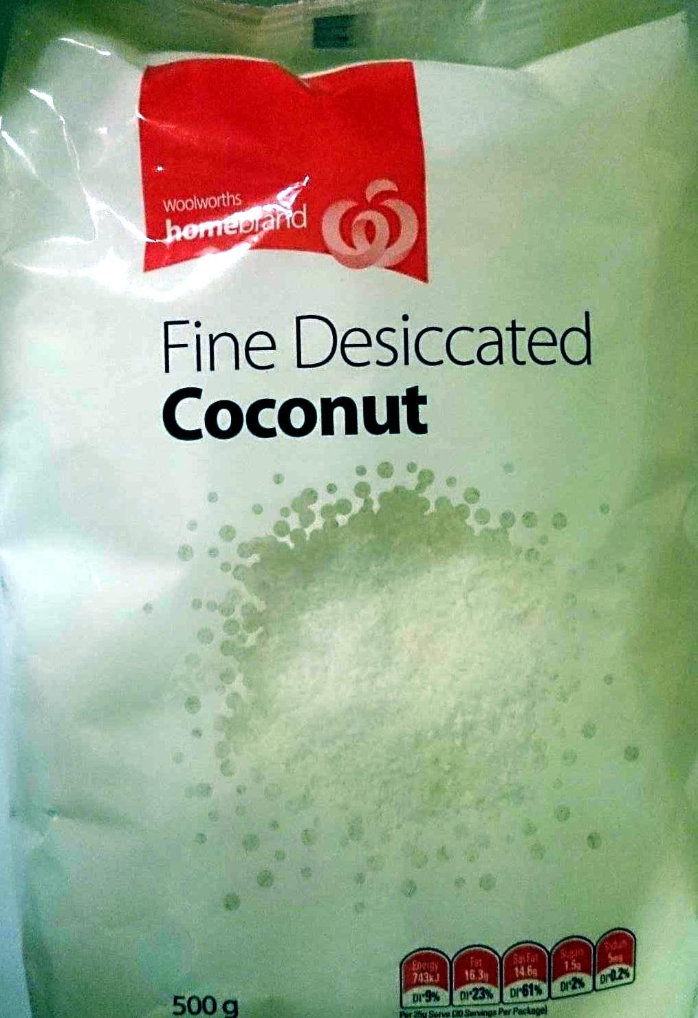 Fine Desiccated Coconut - Product - en