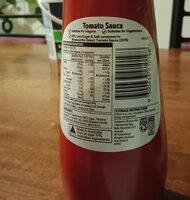 Tomato Sauce - Informations nutritionnelles - en