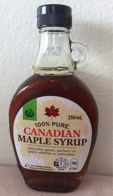 Canadian Maple Syrup - Product - fr