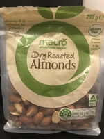 Dry roasted almonds - Product
