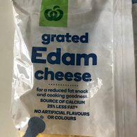 Grated Edam cheese - Product - en